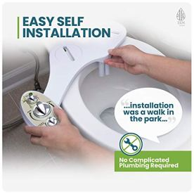 Zen-Bidet-Z-500-Hot-and-Cold-Water-Brass-Components-Dual-Nozzle-Toilet-Seat-Attachment-with-Self-Cleaning-Nozzles-and-Ceramic-Valves-Designed-FOR-US-and-Canada-Will-not-work-in-other-countries