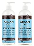 Renpure Originals Argan Oil Luxurious Shampoo and Conditioner, 32 Oz Bottles