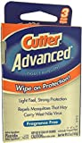 Cutter Advanced Insect Repellant Wipes 2 Pack