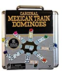 Cardinal Mexican Train Domino Game with Aluminum Case ~ Styles May Varies