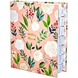 The Dream Wedding Planner | Luxury Wedding Organizer Book with Beautiful Souvenir Gift Box | Ideal Engagement Gift for Couples | Perfect for Planning Your Dream Wedding | Pink & Foliage
