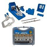Kreg K4MS Jig Master System with Pocket-Hole Screw Kit in 5 Sizes