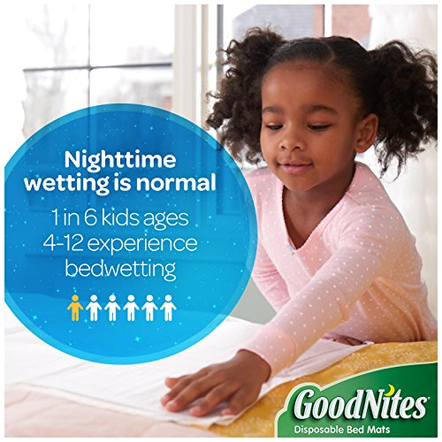 GoodNites-Disposable-Bed-Mats-for-Bedwetting-4-Packs-of-9-Mats-36-Total