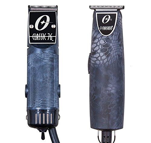 Oster Classic 76 Professional clipper Snake Skin Color Kryptec + T-Finisher Pro