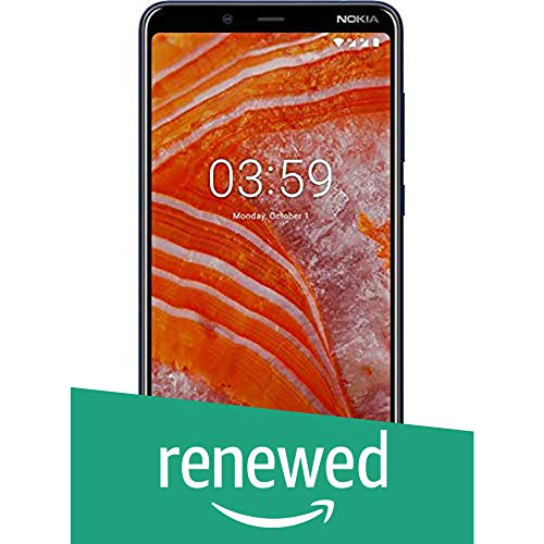(Renewed) Nokia 3.1 Plus (Blue, 3GB RAM, 32GB Storage)