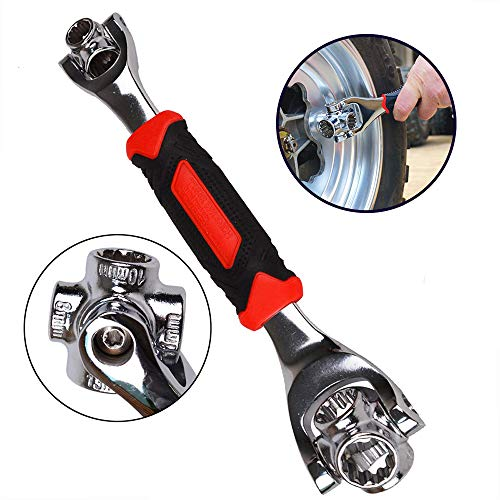 LANGYINH Multi-Function Wrench 360° Rotating Wrench Multi-Socket Wrench,Suitable for Industrial, Automotive,Residential and Other Fields