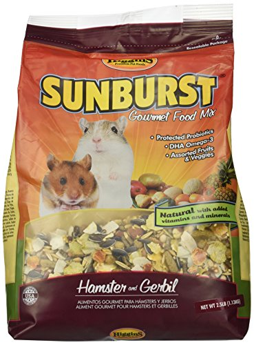 Sunburst Gourmet Food Mix for Hamsters