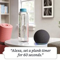 Smart speaker with Alexa   Charcoal