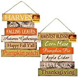 Thanksgiving Decorations For Your Home - Set of 2...