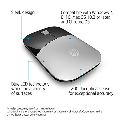 51lkACfm%2BIL HP Z3700 Wi-fi Mouse Silver
