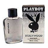 Hollywood Playboy by Coty for Men Eau De Toilette Spray 3.4 oz