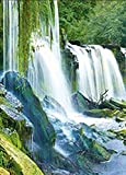 WATERFALLS UNFRAMED Holographic Wall Art-POSTERS That FLIP and CHANGE images-Lenticular Technology Artwork--MULTIPLE PICTURES IN ONE--HOLOGRAM Images Change--Technology by THOSE FLIPPING PICTURES