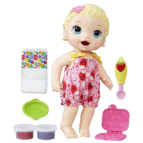 Baby Alive Super Snacks Snackin' Lily...