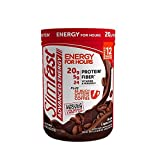 SlimFast Advanced Energy Mocha Cappuccino Smoothie Mix Powder - Meal Replacement Shake  -  11.4oz. (324g) Canister
