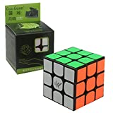 CuberSpeed Moyu Guoguan Yuexiao 3x3 Black Magic Cube 3x3x3 Speed Cube Puzzle