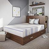Vibe 12-Inch Gel Memory Foam Mattress   Bed in a Box, [Mattress Only], Queen