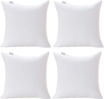 Acanva Polyester Stuffer Square Throw Pillow Inserts