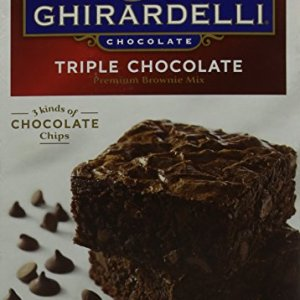 Ghirardelli Chocolate Triple Chocolate Brownie Mix 2.26kg 51m23MgcaPL