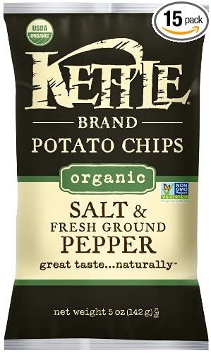 Kettle Organic Black Pepper Potato Chips