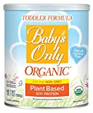 Baby's Only Soy Protein Toddler Formula - Non GMO, USDA Organic, Clean Label Project Verified, 12.7 oz