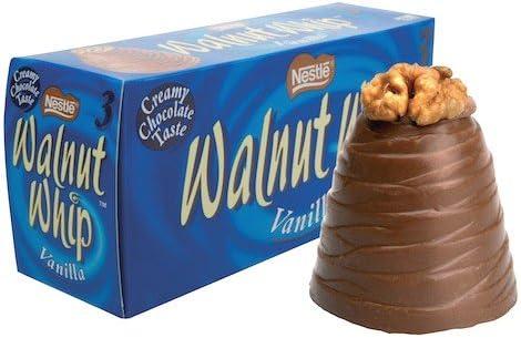 Walnut Whip 3 Pack: Amazon.co.uk: Grocery
