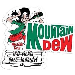 Popfunk Mountain Dew Vintage Jump Logo Collectible Stickers
