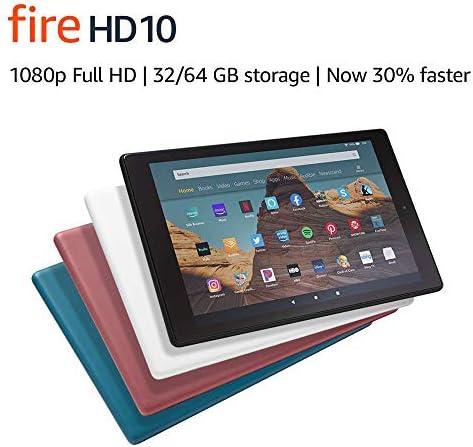 Fire HD 10 Tablet (10.1″ 1080p full HD display, 32 GB) – Twilight Blue