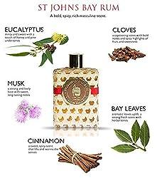 St Johns Bay Rum Cologne/Aftershave Lotion 8 Oz Splash VIP Sized. The Best Smelling Fragrance for Men. Handcrafted. Bay Leaf Oils, Premium Spices in U.S.V.I. Popular Fragrance for Guys for 70 Years.  Image 1