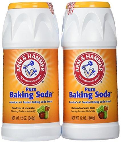 Arm & Hammer Pure Baking Soda Shaker 12 Oz (Pack of 2)