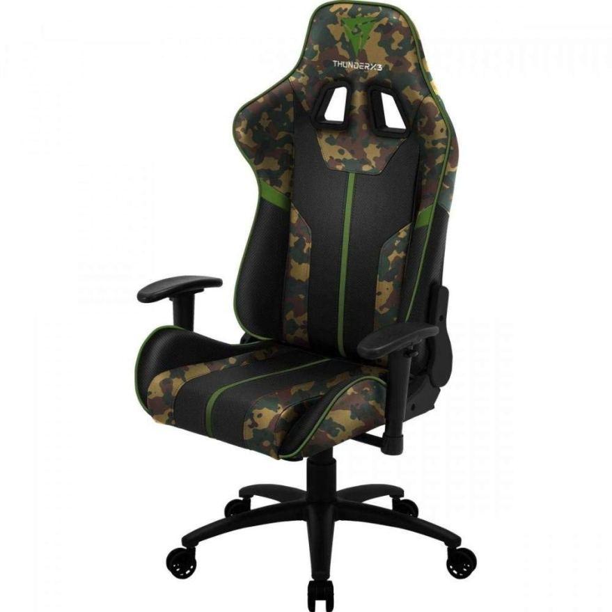ThunderX3 BC3 CAMO, silla gaming tecnología AIR, transpiración total,2 colores