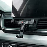 Phone Holder for Audi Q5,Adjustable Air Vent Cell Audi,Dashboard Cell Phone Holder for Audi Q5 2018,Car Phone Mount for iPhone 7 iPhone 6s iPhone 8,for Samsung,Smartphone for 4.7/5 Inches