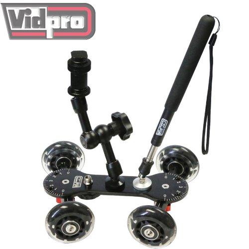 Vidpro SK-22 Professional Skater Dolly for Digital SLR Cameras & Video Camcorders