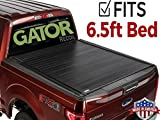 Gator 2014-2018 Chevy Silverado GMC Sierra 6.5 FT. Bed Recoil Retractable Tonneau Truck Bed Cover (G30462) (Matte) Made in The USA