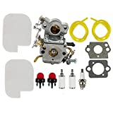 Dalom C1M-W26 Carburetor w Tune Up Kit Air Filter for Poulan P3314 P3416 P3816 P3818 P4018 Pro PP3416 PP3516 PP3816 PP4018 PPB3416 PPB4018 PPB4218 S1970 Gas Chainsaw 545070601