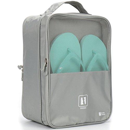 Travel Shoe Bag, MoreTeam 3 in 1 Shoe...