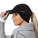 TrailHeads Women's Trailblazer Adventure Ponytail Cap, Black, One Size