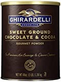 Ghirardelli Chocolate Sweet Ground Chocolate & Cocoa Beverage Mix, 48 oz Canister
