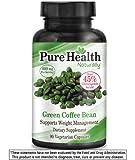 Pure Health Green Coffee Bean Extract - 800 mg Capsules - 90 Capsules