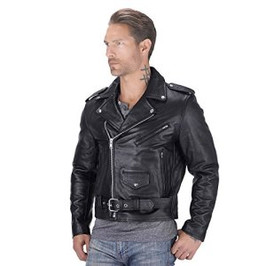 Nomad USA Motorcycle Leather jacket for Men 14 Fashion Online Shop Gifts for her Gifts for him womens full figure