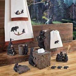 Black Bear Lodge Tissue Cover
