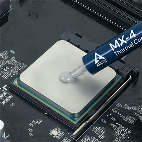 MX-4 (current edition) – Quality thermal compound for all CPU coolers, extremely high thermal conductivity, low thermal resistance, safe use, long durability, 4g