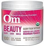 Om Organic Mushroom Nutrition Supplement, Beauty: Hair, Skin, Nails, 100 servings, 7.14oz, 200 grams