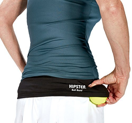 TOURNA Hipster Ball Band for Holding Tennis Balls and Pickleballs - Small