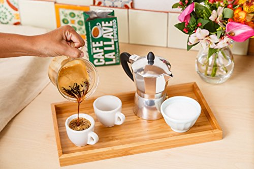 Cafe La Llave Espresso, 4-10 Ounce Bricks