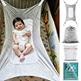 Baby Hammock for Crib with Gift for Newborns (Grey)