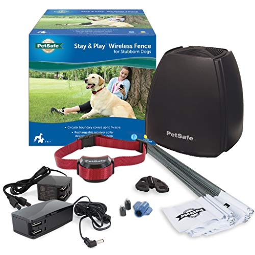 PetSafe Stay & Play Wireless Fence for Stubborn Dogs - Above Ground Electric Pet...