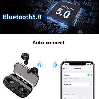 Wireless-Earbuds-BLZK-Latest-Bluetooth-50-True-Wireless-Bluetooth-Earbuds-with-bass-3D-Stereo-Sound-Wireless-Headphones-Built-in-Microphone-LED-Digital-Shows-Charging-Charge-Black