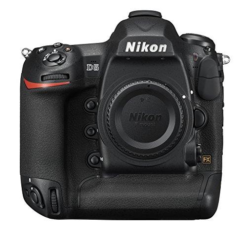 Nikon D5 DSLR 20.8 MP Point & Shoot Digital Camera, Dual XQD Slots - Black