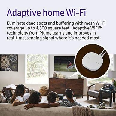 Samsung-ET-WV525BWEGUS-SmartThings-Wi-Fi-Mesh-Router-White