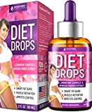 Diet Drops with L-Carnitine - Most Effective Fat Burner - Natural Appetite Suppressant & Metabolism Booster - Made in USA - Weight Loss Drops with L-Arginine, L-Glutamine & Garcinia Cambogia